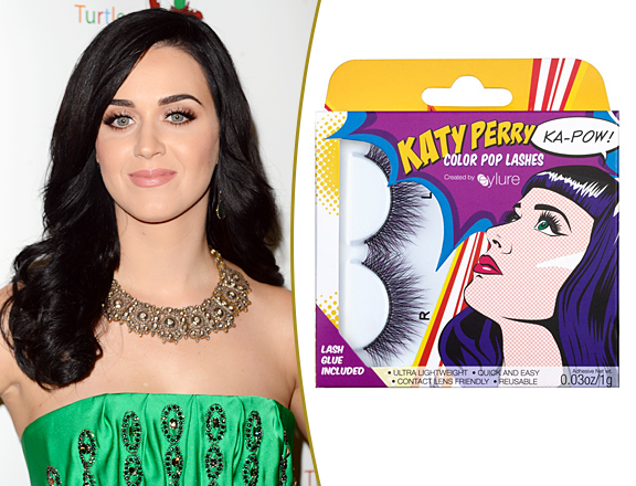 Katy Perry COLOR POP false eyelashes madamemadeline.com