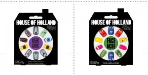 Decorate your falsies lashes with House of Holland Nails