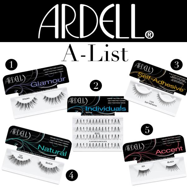 Ardell Lashes for the A-Listers (MadameMadeline.com)