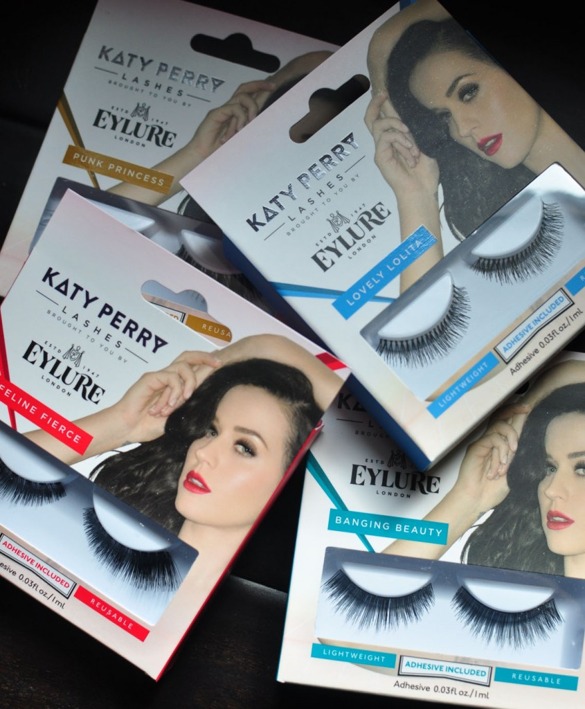 Pop superstar Katy Perry, who is always rocking awesome makeup, collaborated with Eylure to hand-pick a collection of fantastic false lashes.   ... Read more at http://www.falseeyelashes.com/index.php/batting-lashes-like-a-rock-star-with-katy-perry-by-eylure/201502/