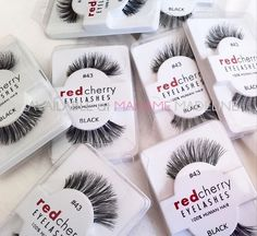 3 Occasions that are Incomplete without Red Cherry Fake Eyelashes