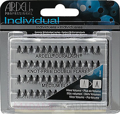 Ardell Madame Madeline Duralash Knot-Free Double Individual Lashes Medium