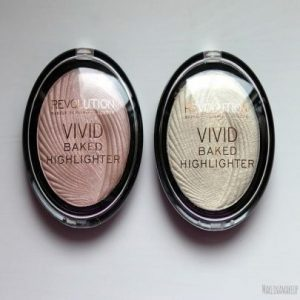 Makeup Revolution Baked Highlighters,