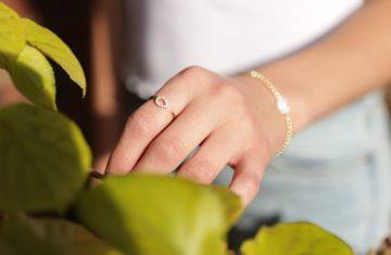 Diamond Ring and Bracelet