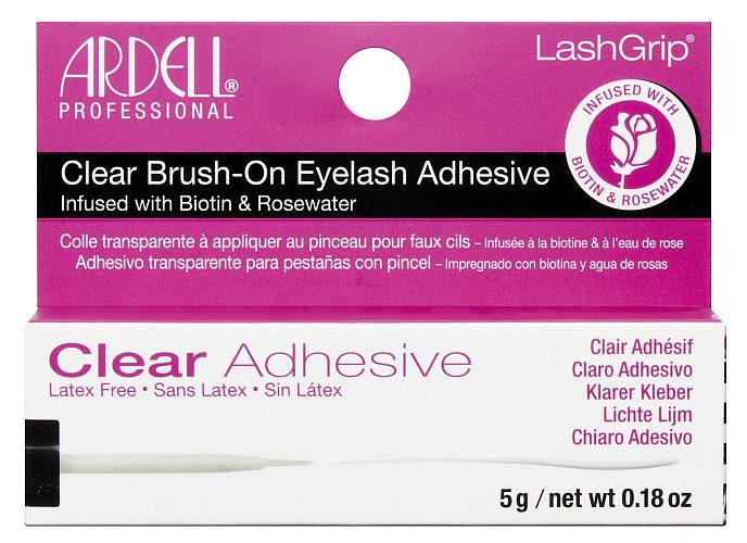 Ardell LashGrip Biotin & Rosewater Strip Adhesive Clear