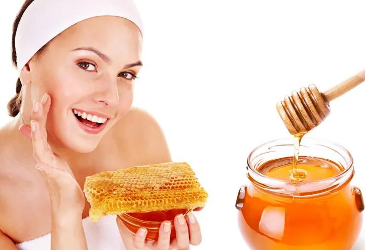 honey for face glow