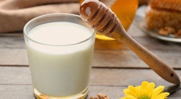 Milk for skin glow