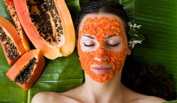 papaya for faceglow